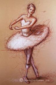 Dibujo-Bailarina