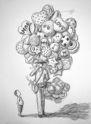 Dibujo el globero