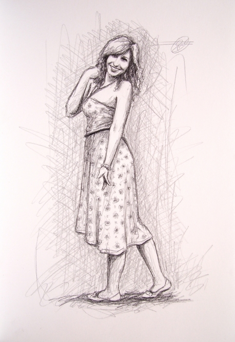 Dibujo Rosy